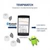 Bevielė Bluetooth temperatūros ir drėgmės registravimo sistema Tempwatch